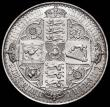 London Coins : A164 : Lot 904 : Crown 1847 Gothic UNDECIMO ESC 288, Bull 2571 EF/Near EF the obverse with some light scratches in th...