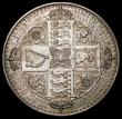 London Coins : A164 : Lot 906 : Crown 1847 Gothic UNDECIMO ESC 288, Bull 2571 VF/EF the obverse with numerous scratches, Ex-Jeweller...