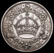 London Coins : A164 : Lot 922 : Crown 1929 ESC 369, Bull 3636, EF/NEF once lightly cleaned