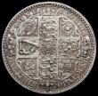 London Coins : A164 : Lot 977 : Florin 1849 inverted A for V in VICTORIA Lustrous GEF with some contact marks, unlisted by ESC or Bu...