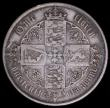 London Coins : A164 : Lot 978 : Florin 1854 ESC 811A, Bull 2829 About Fine, all major details clear , a very collectable example of ...