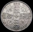 London Coins : A164 : Lot 983 : Florin 1873 ESC 871 Die Number 58 Pleasing VF