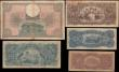 London Coins : A165 : Lot 1171 : Brazil (5) includes 500 Mil Reis Pick 99 Estampa 1A serie 040A a large size note with the portrait o...