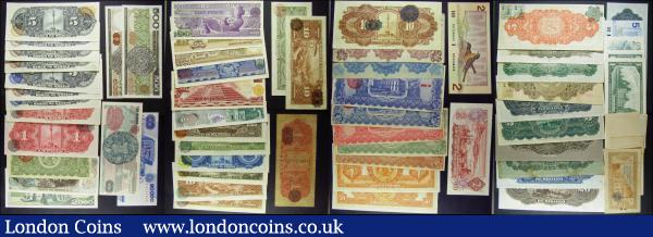 Canada & Mexico (63) in mixed grades includes about UNC - UNC. Comprising many rare issues of Mexico Revolutionary, Commercial Banks and El Oro Mining & Railway Company Limited currency.  : World Banknotes : Auction 165 : Lot 1187