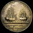 London Coins : A165 : Lot 1382 : Resolution and Adventure Medal 1772 43mm diameter off-metal in brass, by Matthew Boulton, John Fothe...
