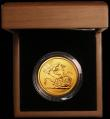 London Coins : A165 : Lot 1541 : Five Pounds Gold 2010 S.SE11 BU in the Royal Mint box of issue with certificate