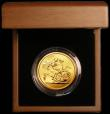 London Coins : A165 : Lot 1542 : Five Pounds Gold 2010 S.SE11 BU in the Royal Mint box of issue with certificate