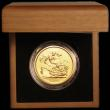 London Coins : A165 : Lot 1543 : Five Pounds Gold 2011 S.SE11 BU in the Royal Mint box of issue with certificate