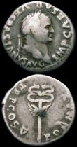London Coins : A165 : Lot 2042 : Roman Denarii (3) Vespasian (69-79AD) Obverse: Bust right, VESPASIANVS AVG IMP CAESAR Reverse : Wing...