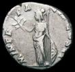 London Coins : A165 : Lot 2062 : Roman Denarius Clodius Albinus (195-197AD) Obverse: Bare head right, D CLOD SEPT ALBIN CAES, Reverse...