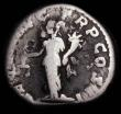 London Coins : A165 : Lot 2077 : Roman Denarius Pertinax (193AD) Obverse: bust right, laureate [IMP CAES] P HELV PERTIN AVG, Reverse:...