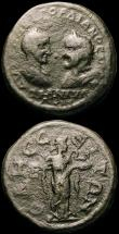 London Coins : A165 : Lot 2093 : Roman Provincial (2) Ae5 Gordian III and Tranquillina,  Thrace, Odessus, (241-244AD) Assaria. Obvers...