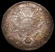 London Coins : A165 : Lot 2133 : Austrian States - Olmutz Thaler 1704 Karl III Joseph with 8 pointed cross reverse KM103, Davenport 1...