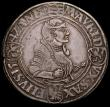 London Coins : A165 : Lot 2187 : German States - Saxony Ernestine Thaler 1542 nVF with one flan crack