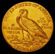 London Coins : A165 : Lot 2304 : USA 2 1/2 Dollars Gold 1913 Breen 6336 GEF/AU