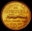 "London Coins : A165 : Lot 2378 : Venezuela 20 Bolivares 1957 Chacao X#87 Lustrous UNC, Minted between 1955 and 1960, the ""Caciq..."