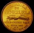 London Coins : A165 : Lot 2379 : Venezuela 20 Bolivares 1957 Guaicamacuto X#MB93 Lustrous UNC. Minted between 1955 and 1960, the &ldq...
