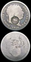 London Coins : A165 : Lot 2381 : World Countermarked issues (2) Philippines 8 Reales undated (1832-1834) countermarked issue on host ...