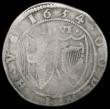 London Coins : A165 : Lot 2410 : Halfcrown 1654 Commonwealth ESC 434, Bull 40 VG