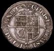 London Coins : A165 : Lot 2457 : Shilling Charles I York Mint, S.2870, North 2316, Reverse: Square-topped shield with EBOR above, min...
