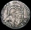 London Coins : A165 : Lot 2482 : Sixpence Philip and Mary 1554 S.2505 Near Fine for wear with many contact marks and scratches on eit...