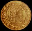 London Coins : A165 : Lot 2491 : Unite Charles I Tower Mint, Group B, Second Bust, S.2687 mintmark Anchor EF in an LCGS holder and gr...