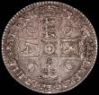 London Coins : A165 : Lot 2499 : Crown 1673 VICESIMO QVINTO ESC 47, Bull 390 VF, a pleasing and evenly struck example with good eye a...