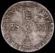 London Coins : A165 : Lot 2505 : Crown 1695 OCTAVO ESC 87, Bull 991 GVF with some haymarks and some thin scratches on the reverse