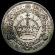 London Coins : A165 : Lot 2536 : Crown 1927 Proof ESC 367, Bull 3631 GEF with some lustre and a slightly uneven tone
