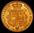 London Coins : A165 : Lot 2663 : Half Sovereign 1870 S.3860, Die Number 36 NEF and lustrous