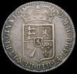 London Coins : A165 : Lot 2710 : Halfcrown 1689 First Shield, No Frosting, with pearls, ESC 507, Bull 835 NVF/GF with touches of haym...