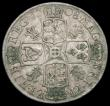 London Coins : A165 : Lot 2719 : Halfcrown 1708 Plumes ESC 577, Bull 1370 Good Fine, the obverse with minor flecks of haymarking