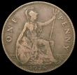 London Coins : A165 : Lot 2854 : Penny 1928 as Freeman 199 dies 5+C with die axis inverted, Fine, unusual