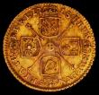 London Coins : A165 : Lot 2855 : Quarter Guinea 1718 S.3638 Good Fine with touches of light tone