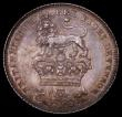London Coins : A165 : Lot 2899 : Sixpence 1826 Milled Edge Proof ESC 1663, Bull 2435 nFDC with minor friction, a deep golden tone and...