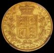 London Coins : A165 : Lot 2970 : Sovereign 1852 Marsh 35 NGC MS61 desirable thus