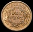 London Coins : A165 : Lot 3804 : USA Cent 1846 Small Date, Closed 6 Breen 1189 EF/GEF with some lustre