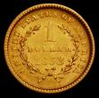London Coins : A165 : Lot 3823 : USA Gold Dollar 1853 Breen 6025 NEF