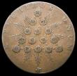 London Coins : A165 : Lot 3832 : USA Kentucky Halfpence token, Starry Pyramid, undated (1792-1794) Plain edge, Breen 1155 weight 9.56...