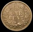 London Coins : A165 : Lot 3834 : USA One Cent 1861 Breen 1949 A/UNC with a small tone spot on the obverse rim