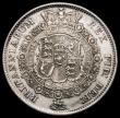 London Coins : A165 : Lot 3887 : Halfcrown 1816 ESC 613, Bull 2086 Bright GVF/NEF the obverse with some thin scratches