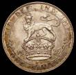 London Coins : A165 : Lot 3950 : Shilling 1925 ESC 1435, Bull 3823 About EF with some light toning