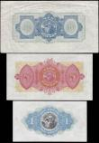 London Coins : A165 : Lot 665 : Northern Ireland Bank of Ireland early H.J. Adams signature issues (3) mixed grades including some h...