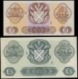 London Coins : A165 : Lot 752 : Scotland Bank of Scotland (2) £1 dated 17th July 1968 series A/2 0955049 signed Polwarth/Letha...