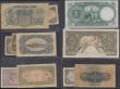 London Coins : A165 : Lot 894 : Egypt (11) a mixed group of 1940's issues in various grades mostly VG - Fine includes a 5 Pound...
