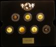 London Coins : A166 : Lot 1048 : The Magnificent Seven' a 7-coin set in gold a mixed date set comprising GB Sovereign 2005 Proof...