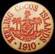 London Coins : A166 : Lot 1151 : Keeling Cocos Islands 10 Cents 1913 KM#Tn2 NEF/GVF