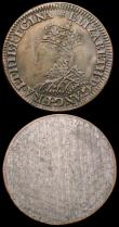 London Coins : A166 : Lot 1501 : Sixpence Elizabeth I Milled issue 1567 Small Bust S.2599 mintmark Lis, Fine for wear, with counterma...
