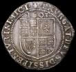 London Coins : A166 : Lot 1504 : Sixpence James I First Issue, First Bust 1603 S.2647 mintmark Thistle NVF/VF struck on a slightly ir...