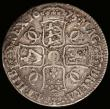London Coins : A166 : Lot 1513 : Crown 1675 5 over 3, with overstruck T in ET, the underlying letter unclear, certainly not a G as qu...